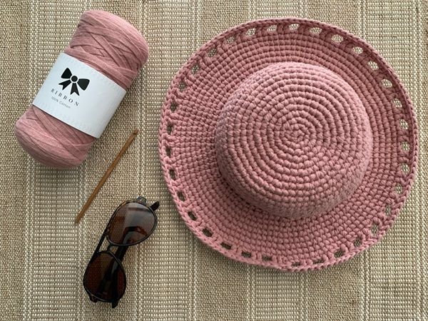 crochet Fun in the Sun Hat easy pattern
