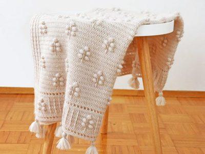 crochet Into the Woods Blanket easy pattern
