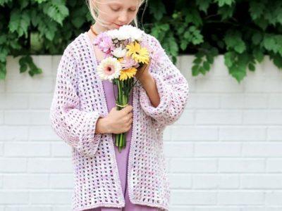 crochet Kaleidoscope Cardigan free patterns