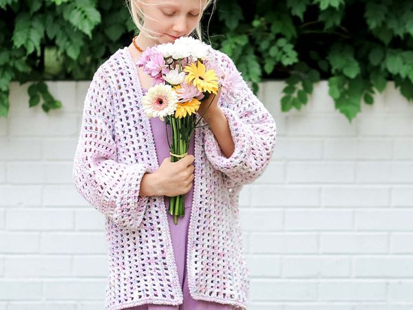 crochet Kaleidoscope Cardigan free patterns