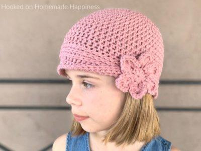 crochet Kids Vintage Hat free pattern