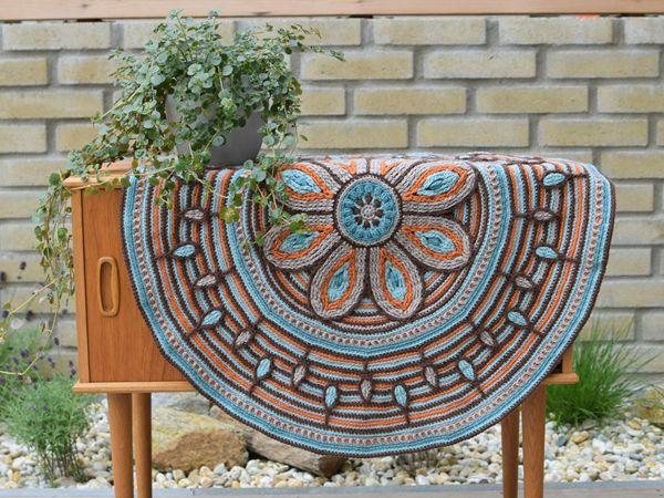 crochet Mandala for Meditation easy pattern