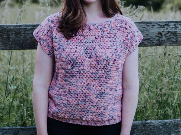 crochet Moffat Tee free pattern