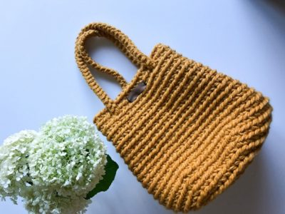crochet The Grove Bag free pattern