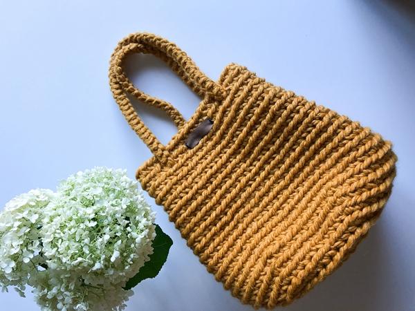 crochet The Grove Bag free pattern