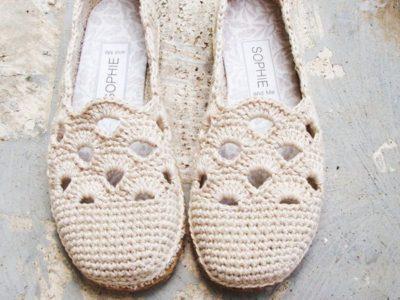 crochet Venezia Slippers easy pattern