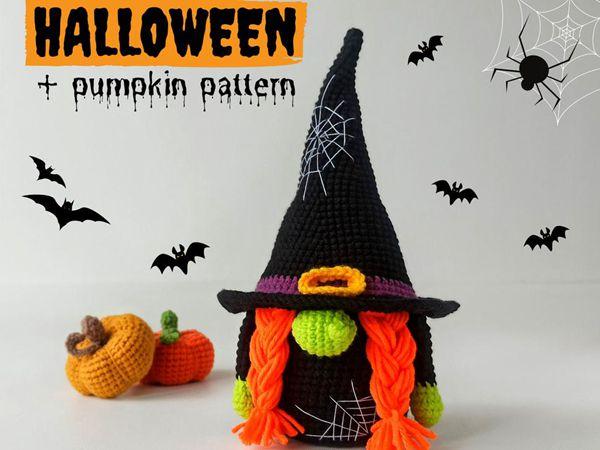 Halloween Crochet Gnome easy patern
