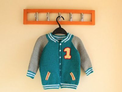 crochet Beautiful Boys Cardigan easy pattern