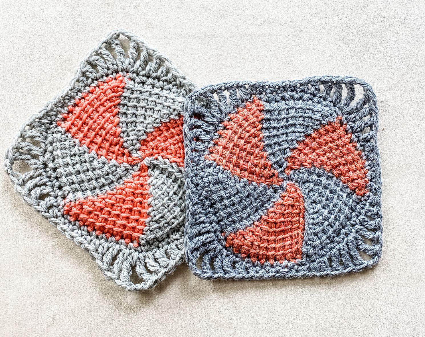 crochet Bloomfield Square free pattern