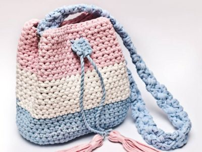crochet Bucket Bag easy pattern