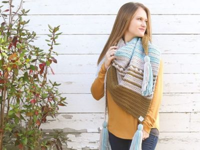 crochet Esmeralda Scarf free pattern