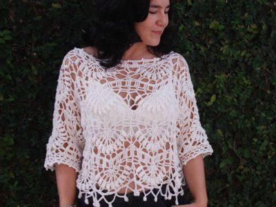 Kiara Crochet Top easy pattern
