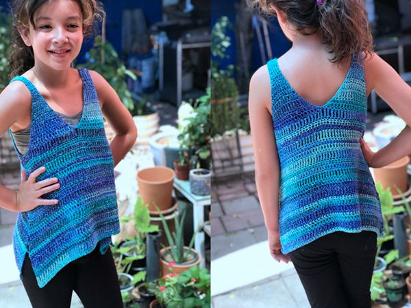 Kids Aralia Tank Top