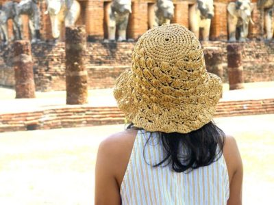 crochet Beach Day Sun Hat free pattern