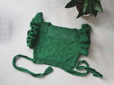 crochet Carolina Wrap Top easy pattern