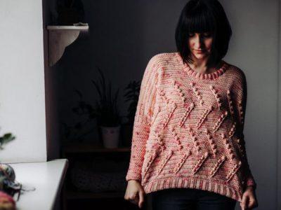 crochet Ceresia Sweater easy pattern