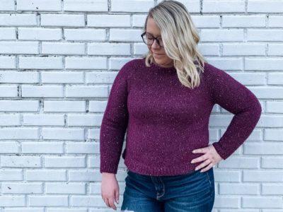 crochet Classic Tunisian Pullover free pattern