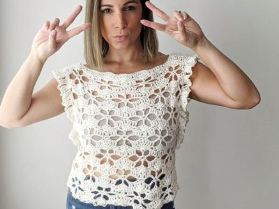 crochet Hey June Top free pattern