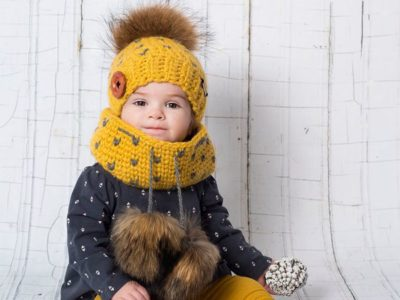 crochet Lqaluit Hat and Cowl Kit easy pattern