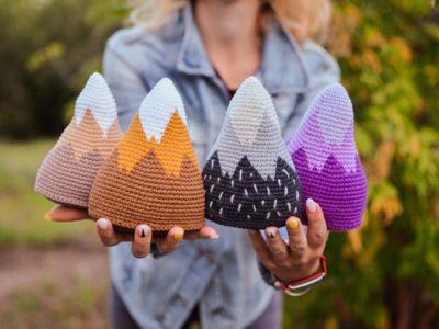 crochet Mountain amigurumi easy pattern