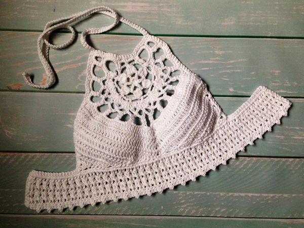 crochet Pure Boho Top easy pattern