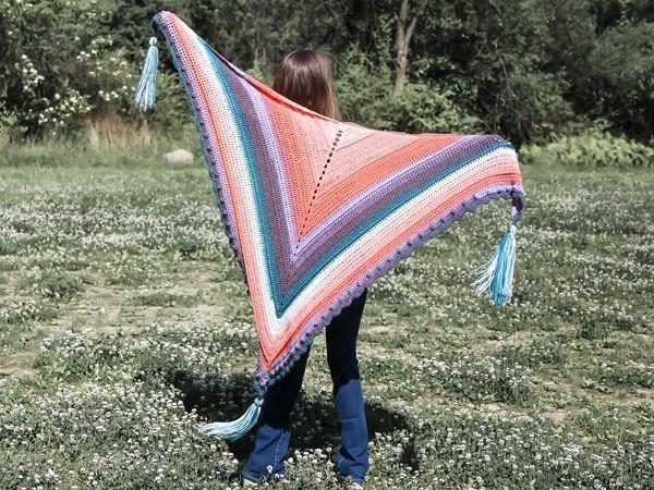 crochet Roux Shawl Wrap free pattern