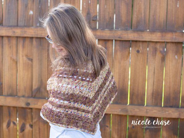 crochet Spiced Up Shawl free pattern