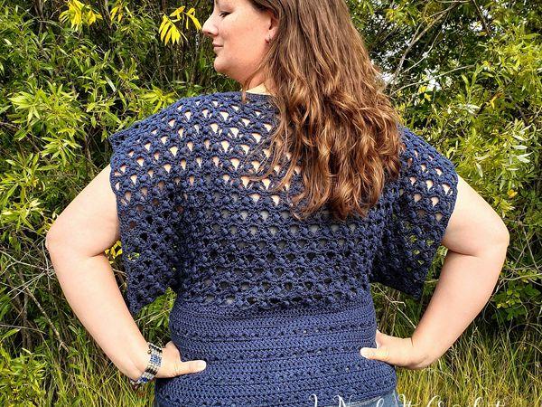 crochet The Crossroads Sweater free pattern