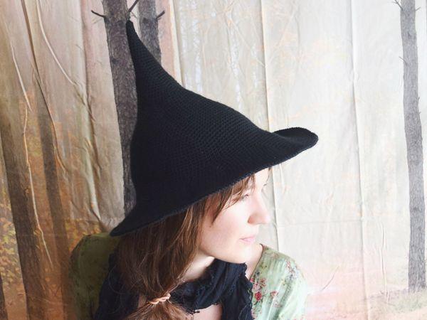 crochet Witch Hat free pattern