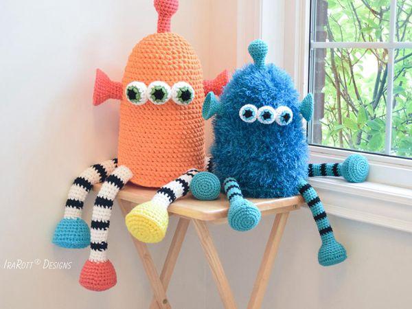 crochet ZaZu The Space Monster amigurumi easy pattern