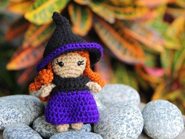crochet Zeena Mini Witch free pattern