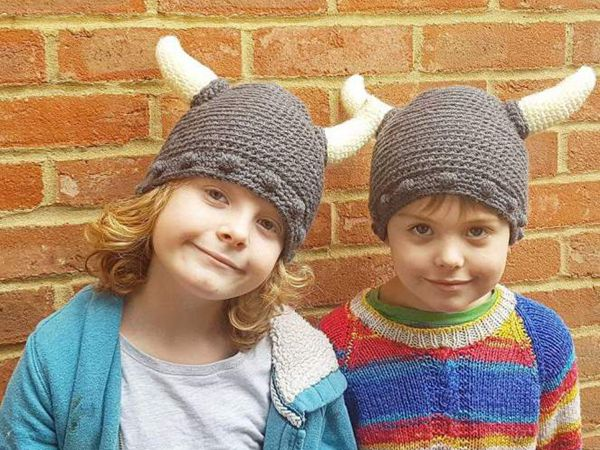 Crochet Viking Hat free Pattern
