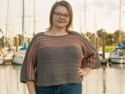 crochet Biel Sweater free pattern