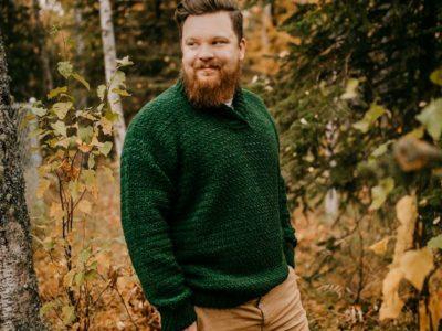 crochet Brentwood Mens Pullover free pattern