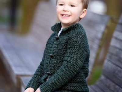 crochet Burnside Cardigan easy pattern