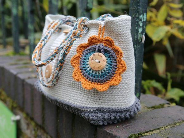 crochet Mighty Fine Day Bag free pattern