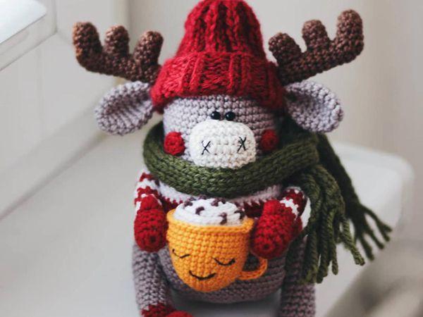 crochet Moose Benjamin Amigurumi easy pattern