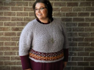 crochet Pumpkin Spice Sweater free pattern