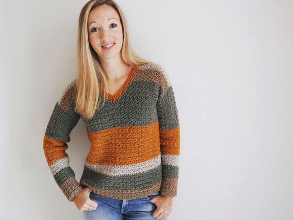 crochet SubLime Sweater free pattern