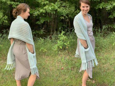 crochet The Gotto Godda Wrap free pattern