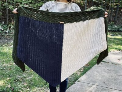crochet The Neva Bea Wrap free pattern