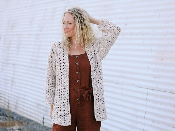 crochet The Sojourn Sweater free pattern