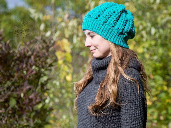 crochet Valda Beanie free pattern