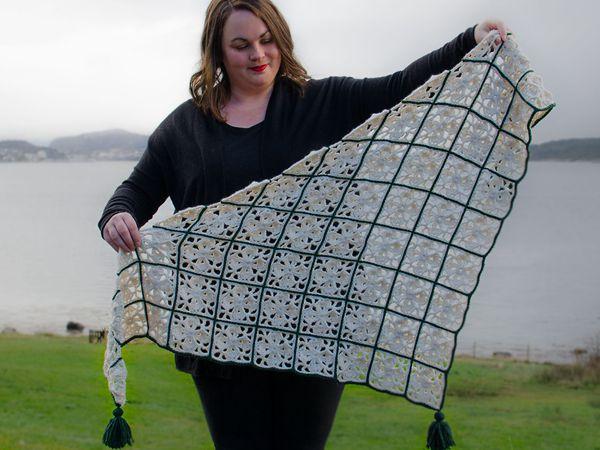 crochet Your Sunday Shawl free pattern
