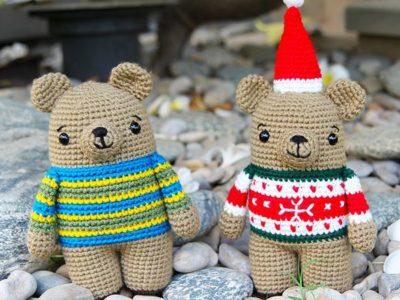 crochet Bax the Bear free pattern