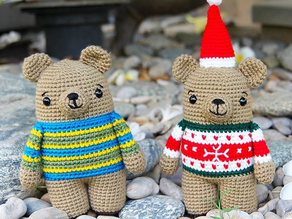 crochet Bax the Bear free pattern