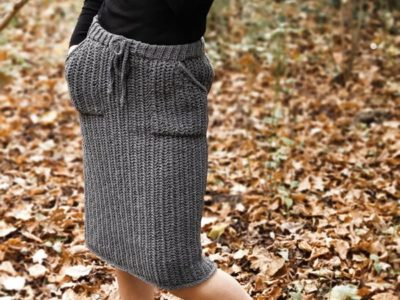 crochet Hobble Skirt free pattern