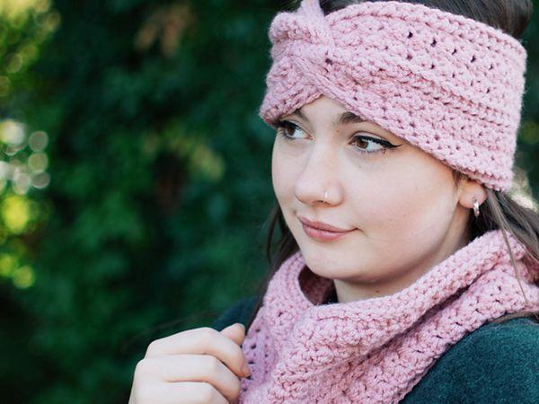crochet Kristine Earwarmer free pattern