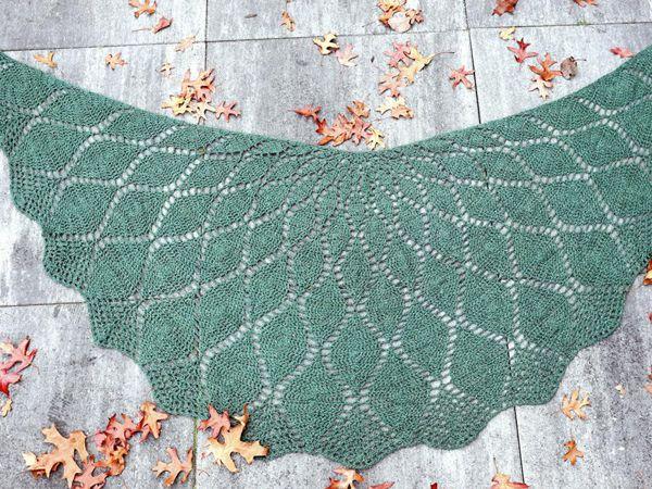 crochet Mandala Shawl easy pattern
