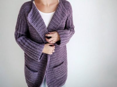 crochet Sunday Coffee Cardigan free pattern